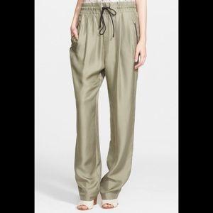 Rag & Bone Harvey wide leg silk pants